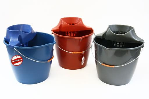 Mop bucket with wringer -12L