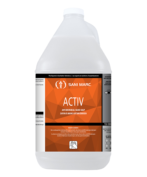 ACTIV ANTIMICROBIAL HAND SOAP 4L